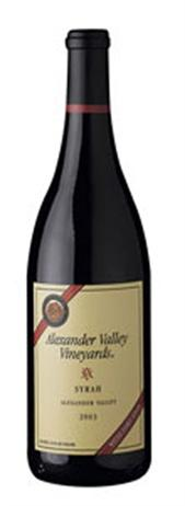 Alexander Valley Vineyards Syrah